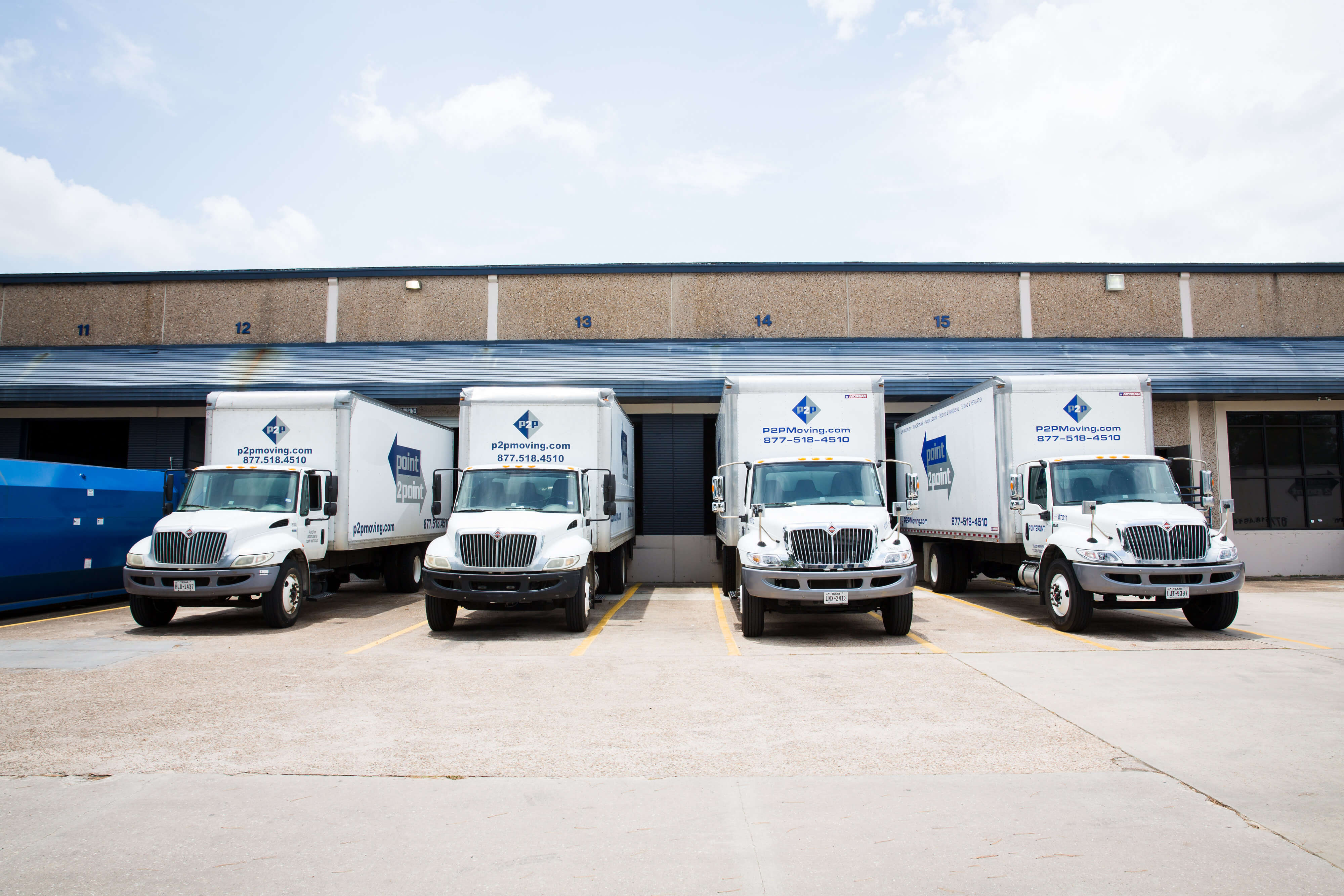 P2P Moving Trucks for Final Mile Delivery